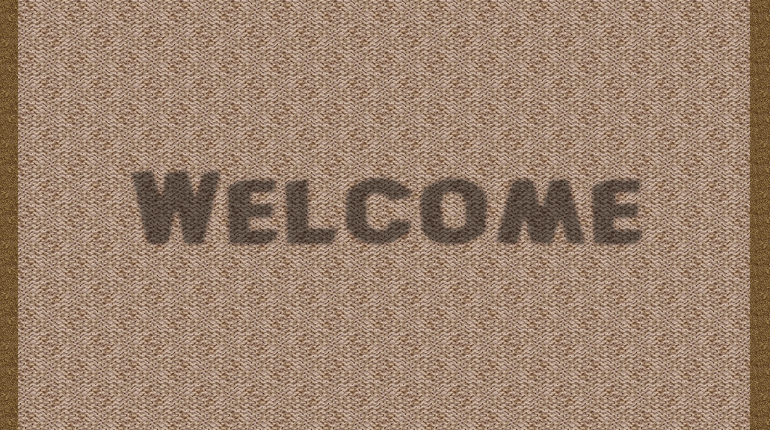 Welkom deurmat
