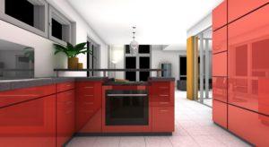 Aankoop van een nieuwe keuken