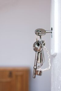 sleutel verwisselen