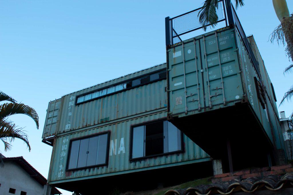 Groen afvalcontainer huren